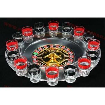 Алкохолна рулетка с чашки за напиване