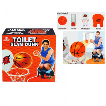 Мини баскетбол за тоалетна