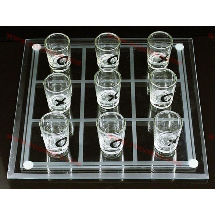 Морски шах с чашки шотове малък