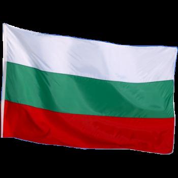 Български флаг от полиестерна коприна